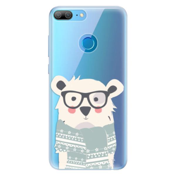 Silikonové pouzdro iSaprio - Bear with Scarf - Huawei Honor 9 Lite
