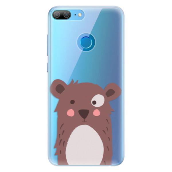 Silikonové pouzdro iSaprio - Brown Bear - Huawei Honor 9 Lite