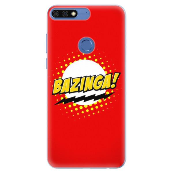 Silikonové pouzdro iSaprio - Bazinga 01 - Huawei Honor 7C