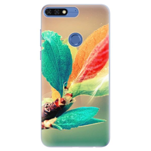 Silikonové pouzdro iSaprio - Autumn 02 - Huawei Honor 7C
