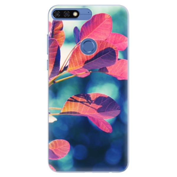 Silikonové pouzdro iSaprio - Autumn 01 - Huawei Honor 7C