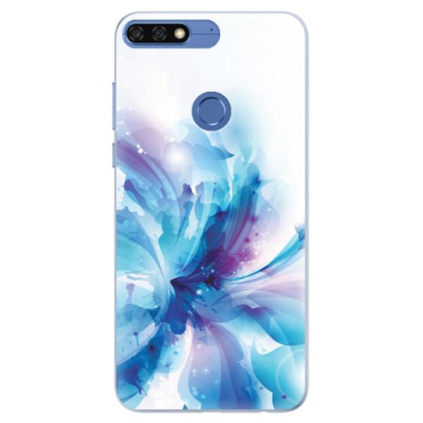 Silikonové pouzdro iSaprio - Abstract Flower - Huawei Honor 7C