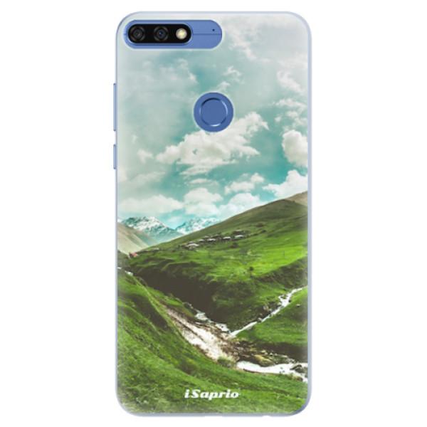 Silikonové pouzdro iSaprio - Green Valley - Huawei Honor 7C