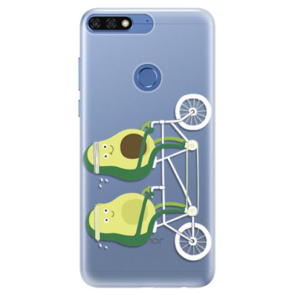 Silikonové pouzdro iSaprio - Avocado - Huawei Honor 7C