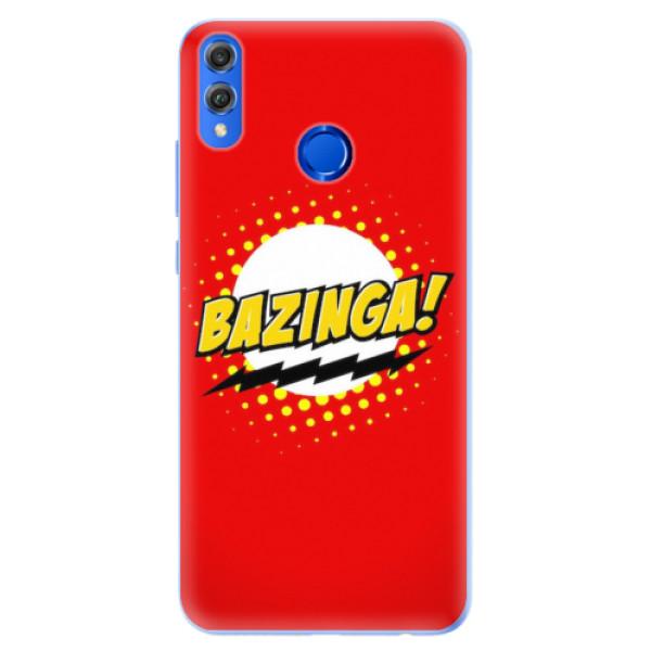Silikonové pouzdro iSaprio - Bazinga 01 - Huawei Honor 8X
