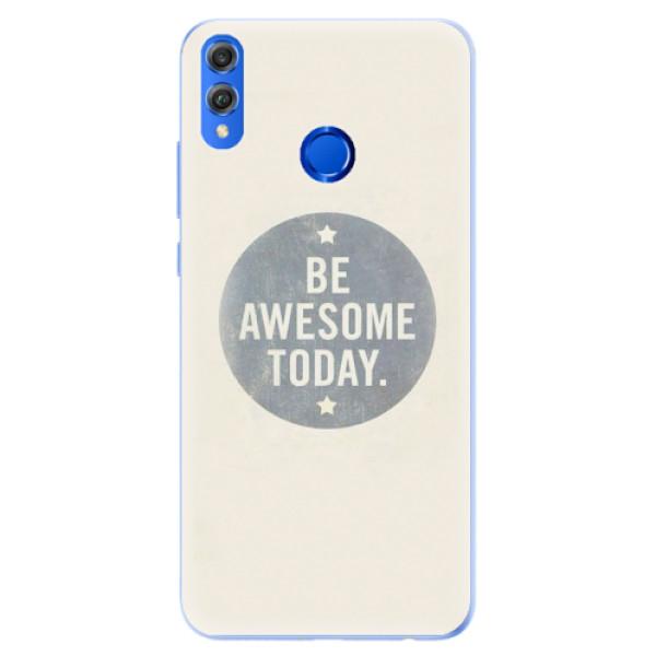 Silikonové pouzdro iSaprio - Awesome 02 - Huawei Honor 8X