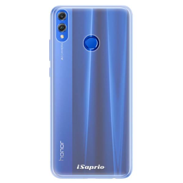 Silikonové pouzdro iSaprio - 4Pure - mléčný bez potisku - Huawei Honor 8X