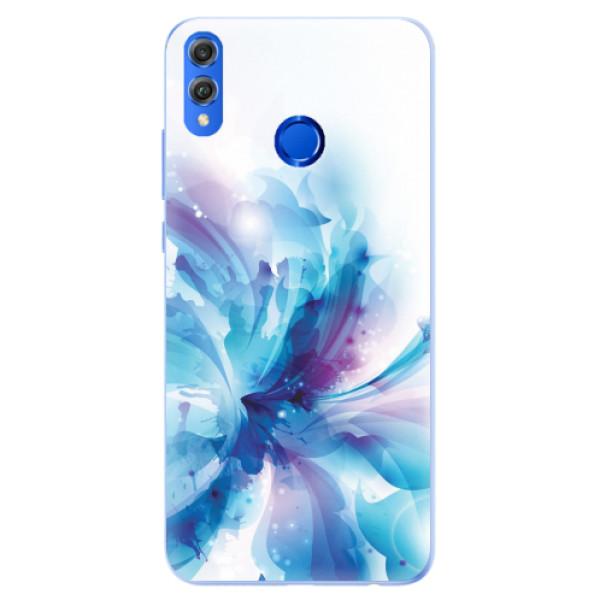 Silikonové pouzdro iSaprio - Abstract Flower - Huawei Honor 8X