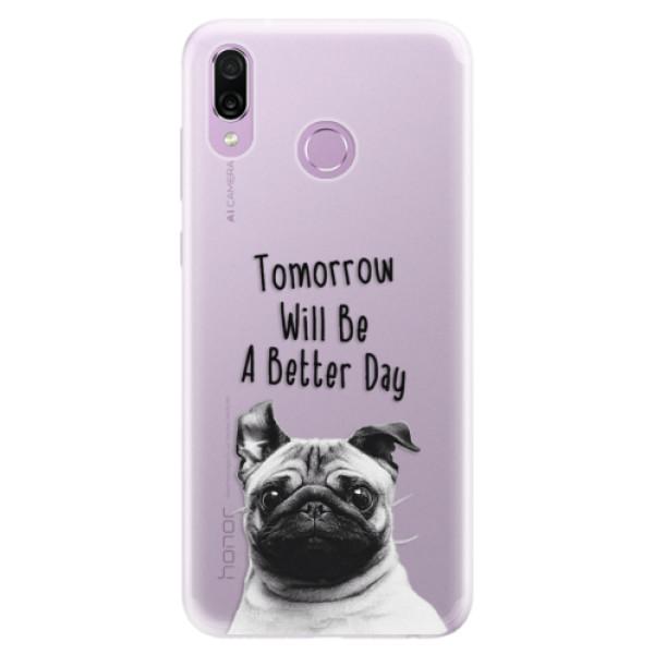 Silikonové pouzdro iSaprio - Better Day 01 - Huawei Honor Play