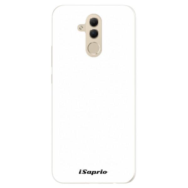 Silikonové pouzdro iSaprio - 4Pure - bílý - Huawei Mate 20 Lite