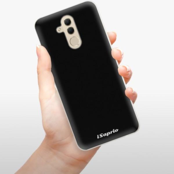 Silikonové pouzdro iSaprio - 4Pure - černý - Huawei Mate 20 Lite
