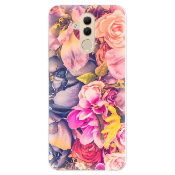 Silikonové pouzdro iSaprio - Beauty Flowers - Huawei Mate 20 Lite