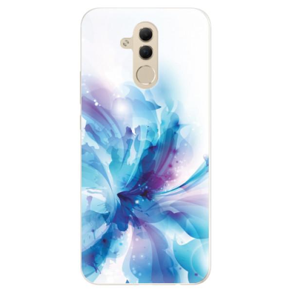 Silikonové pouzdro iSaprio - Abstract Flower - Huawei Mate 20 Lite