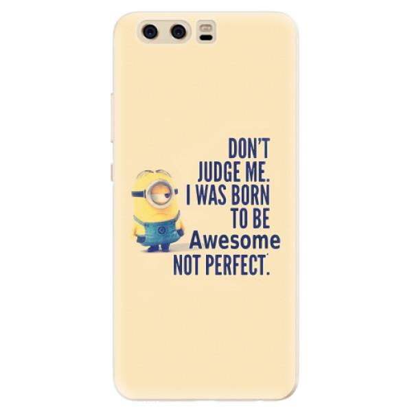 Silikonové pouzdro iSaprio - Be Awesome - Huawei P10