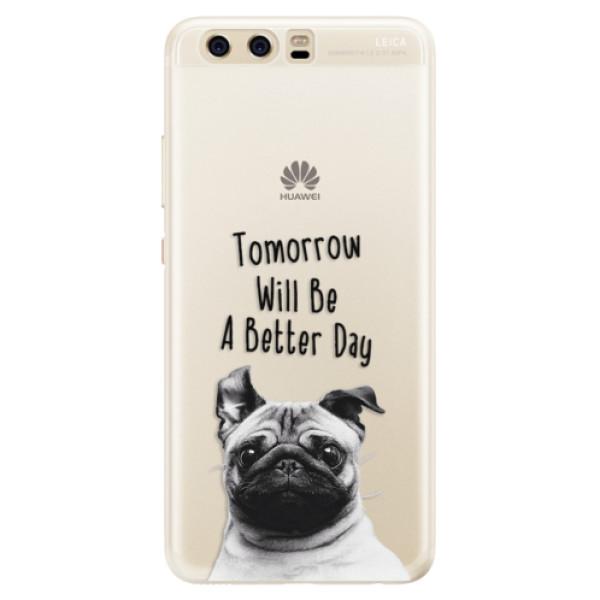 Silikonové pouzdro iSaprio - Better Day 01 - Huawei P10