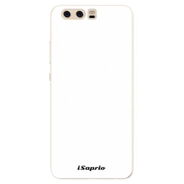 Silikonové pouzdro iSaprio - 4Pure - bílý - Huawei P10