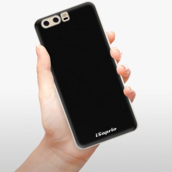 Silikonové pouzdro iSaprio - 4Pure - černý - Huawei P10