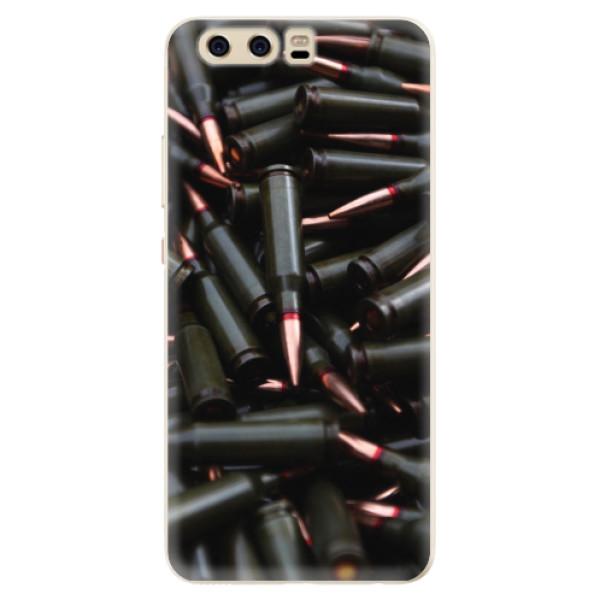 Silikonové pouzdro iSaprio - Black Bullet - Huawei P10
