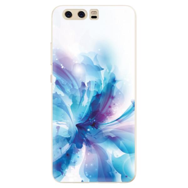 Silikonové pouzdro iSaprio - Abstract Flower - Huawei P10