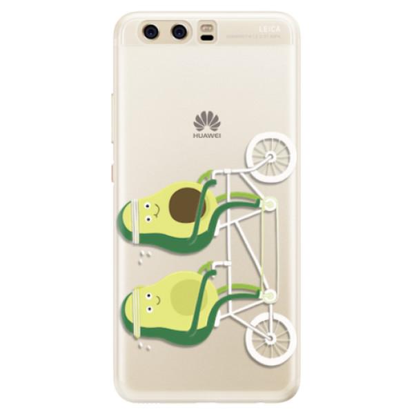 Silikonové pouzdro iSaprio - Avocado - Huawei P10