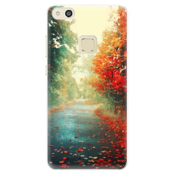 Silikonové pouzdro iSaprio - Autumn 03 - Huawei P10 Lite