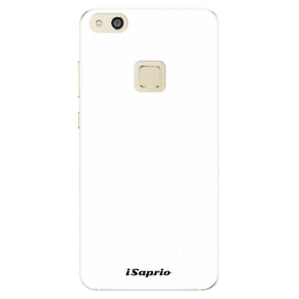 Silikonové pouzdro iSaprio - 4Pure - bílý - Huawei P10 Lite