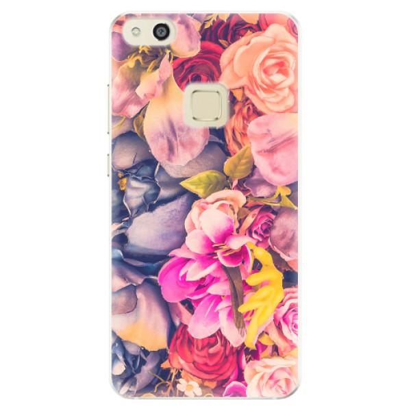 Silikonové pouzdro iSaprio - Beauty Flowers - Huawei P10 Lite