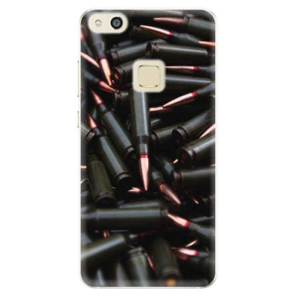 Silikonové pouzdro iSaprio - Black Bullet - Huawei P10 Lite