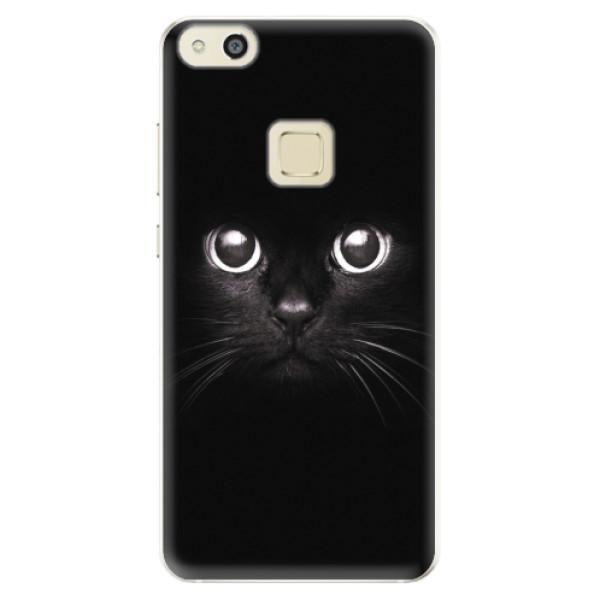 Silikonové pouzdro iSaprio - Black Cat - Huawei P10 Lite