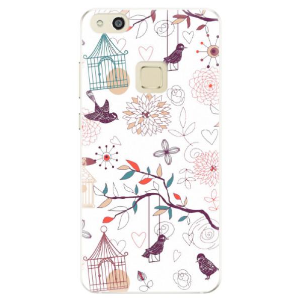 Silikonové pouzdro iSaprio - Birds - Huawei P10 Lite