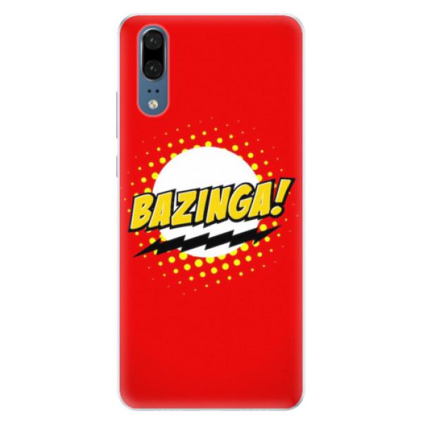 Silikonové pouzdro iSaprio - Bazinga 01 - Huawei P20