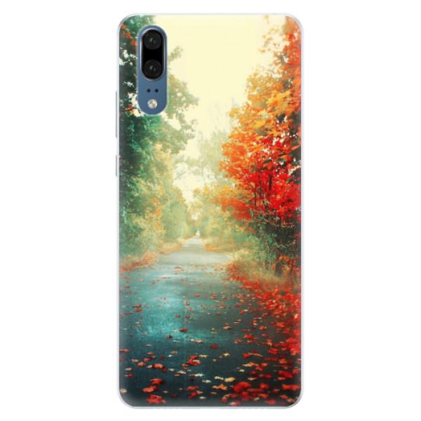 Silikonové pouzdro iSaprio - Autumn 03 - Huawei P20