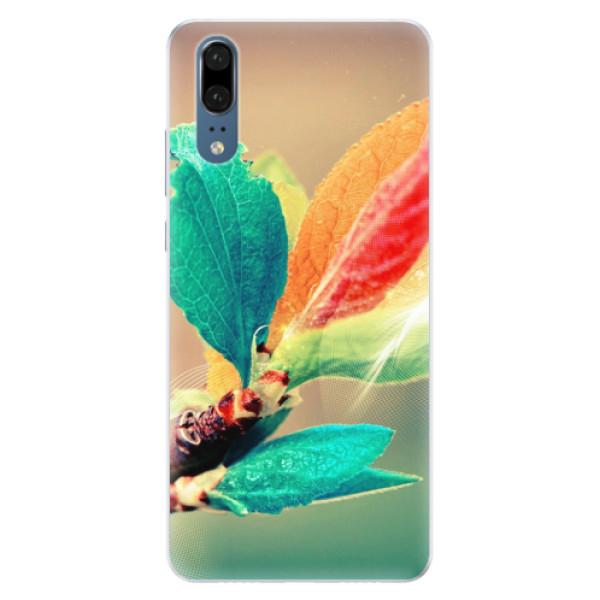 Silikonové pouzdro iSaprio - Autumn 02 - Huawei P20