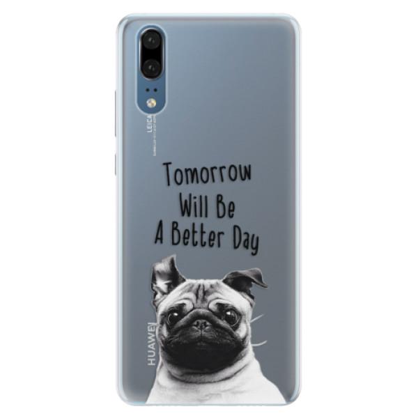 Silikonové pouzdro iSaprio - Better Day 01 - Huawei P20