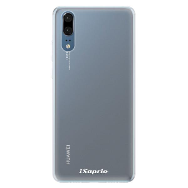 Silikonové pouzdro iSaprio - 4Pure - mléčný bez potisku - Huawei P20