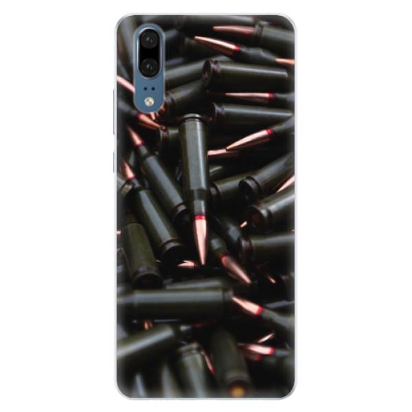 Silikonové pouzdro iSaprio - Black Bullet - Huawei P20