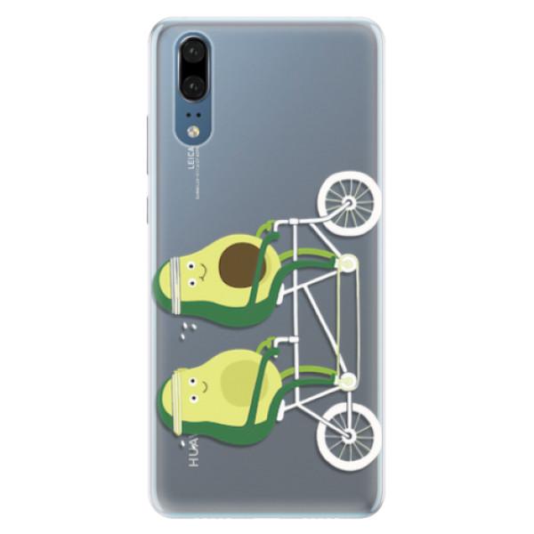 Silikonové pouzdro iSaprio - Avocado - Huawei P20