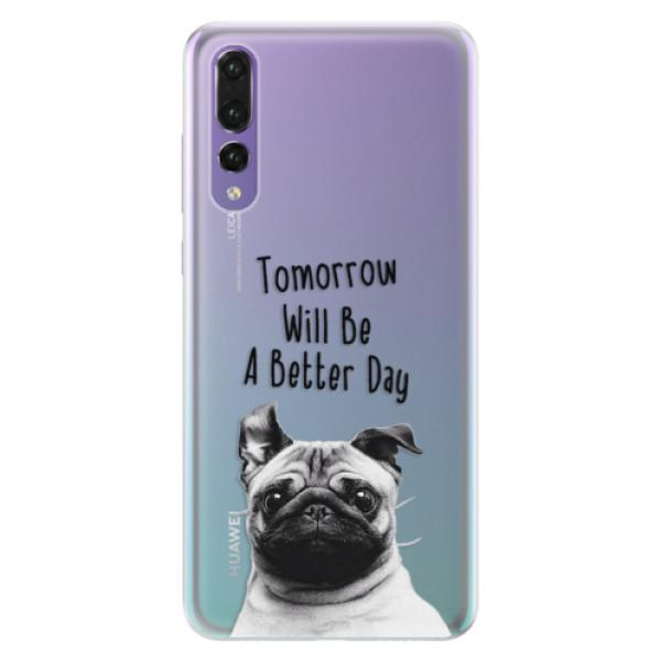 Silikonové pouzdro iSaprio - Better Day 01 - Huawei P20 Pro