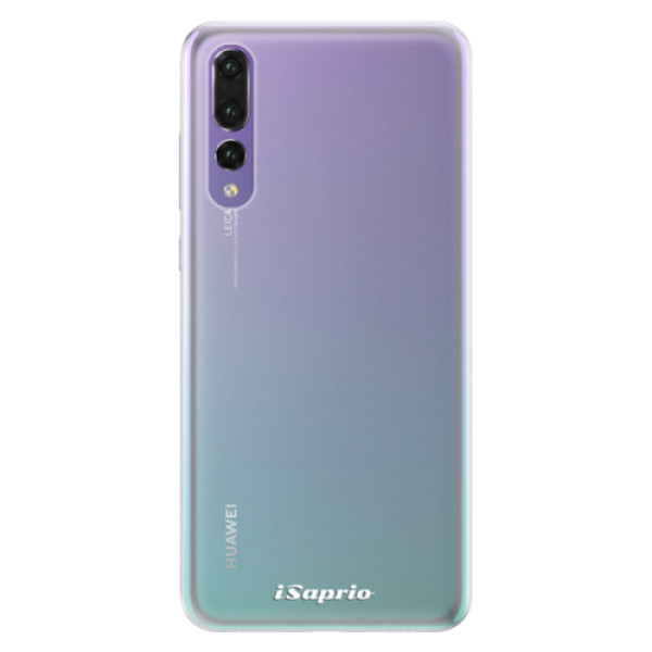 Silikonové pouzdro iSaprio - 4Pure - mléčný bez potisku - Huawei P20 Pro