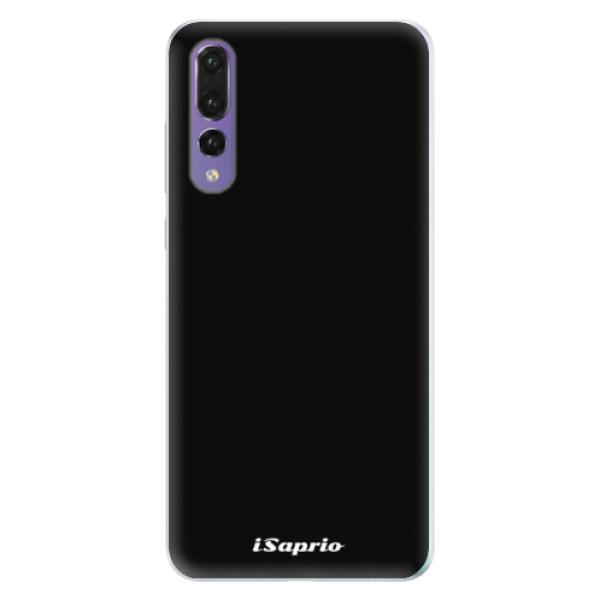 Silikonové pouzdro iSaprio - 4Pure - černý - Huawei P20 Pro