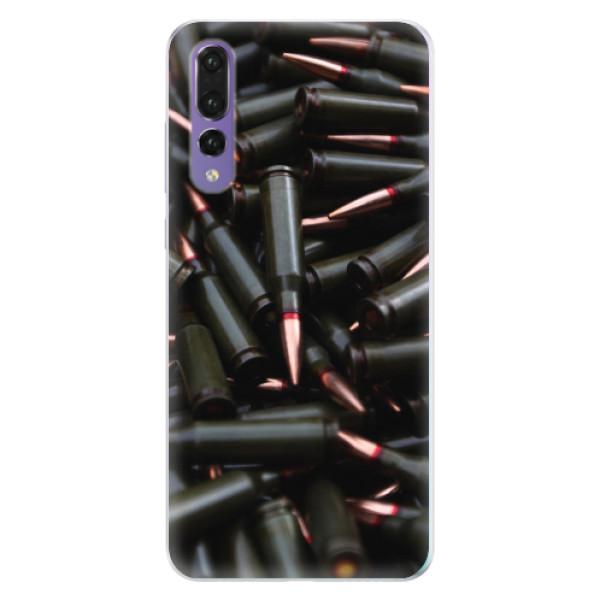 Silikonové pouzdro iSaprio - Black Bullet - Huawei P20 Pro
