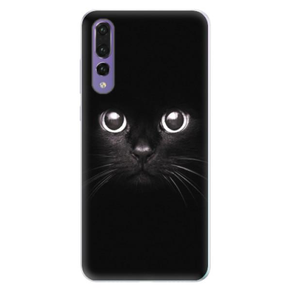 Silikonové pouzdro iSaprio - Black Cat - Huawei P20 Pro