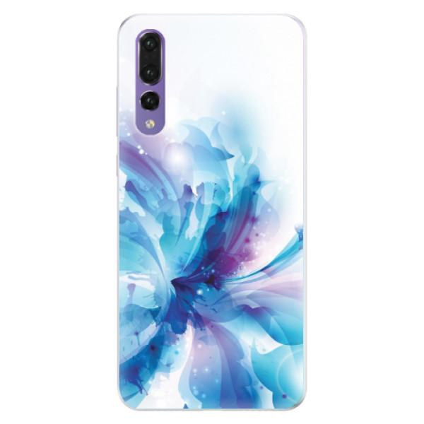 Silikonové pouzdro iSaprio - Abstract Flower - Huawei P20 Pro