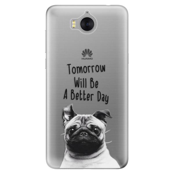 Silikonové pouzdro iSaprio - Better Day 01 - Huawei Y5 2017 / Y6 2017