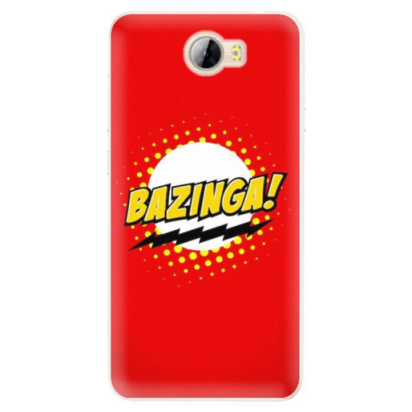 Silikonové pouzdro iSaprio - Bazinga 01 - Huawei Y5 II / Y6 II Compact