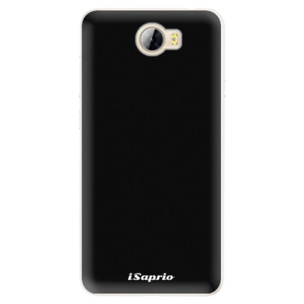 Silikonové pouzdro iSaprio - 4Pure - černý - Huawei Y5 II / Y6 II Compact