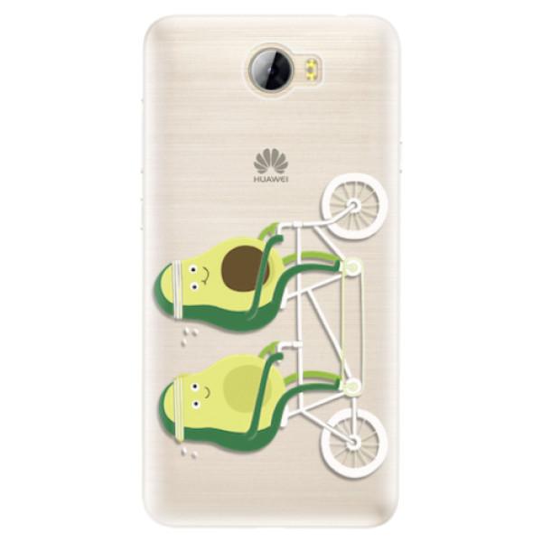Silikonové pouzdro iSaprio - Avocado - Huawei Y5 II / Y6 II Compact
