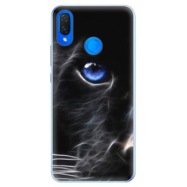 Silikonové pouzdro iSaprio - Black Puma - Huawei Nova 3i