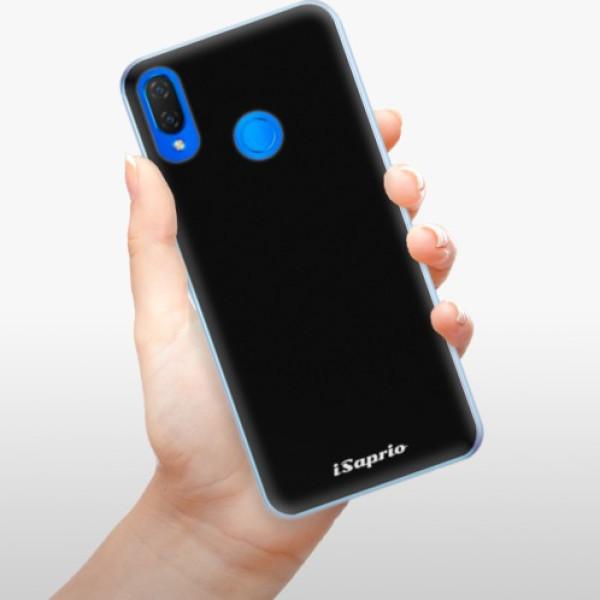 Silikonové pouzdro iSaprio - 4Pure - černý - Huawei Nova 3i