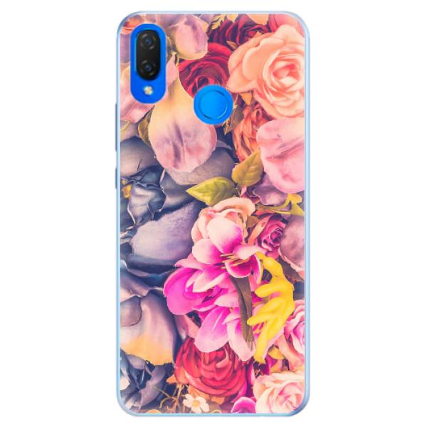 Silikonové pouzdro iSaprio - Beauty Flowers - Huawei Nova 3i